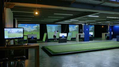 In LiveSmart golf, the facility features 8 bays of the most advanced golf simulation system equipped with course simulators such as Pebble Beach and Turnberry, ball flight analysis and video capture.