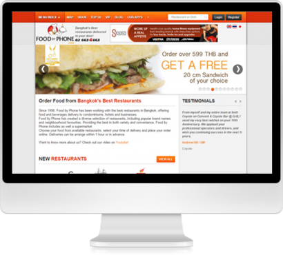 The Food by Phone project is a complete redesign of the order entry system, including phone operator key entry interface, database process, re-engineering of flow and capture of information to make the sales team more efficient and deliver a better customer service overall.