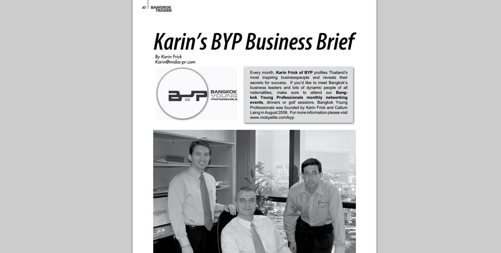 Karin's Business Brief
