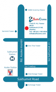 SafeComs Map