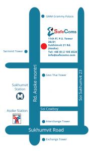 SafeComs Map