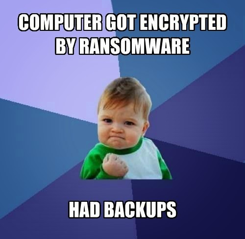 Ransomware success